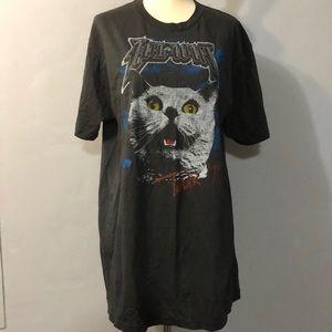 Lolwut Cat Band Hot Topic t-shirt black